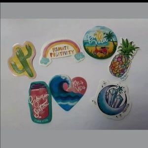 Pura Vida Summer 2019 Sticker Lot of 7